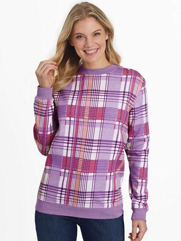 Print Better-Than-Basic Fleece Sweatshirt - Image 1 of 5