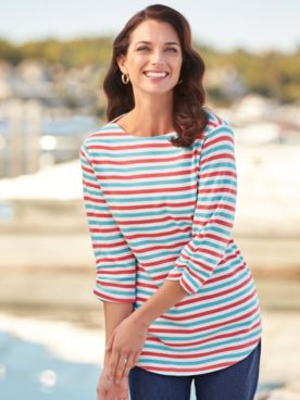 Boatneck Sailor Top