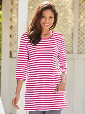 Everyday Stripe Tunic