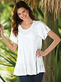 Cady Embroidered Tunic