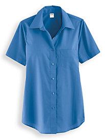Wrinkle-Resistant Short Sleeve Shirt