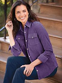 Scandia Woods® Stretch Corduroy Shirt