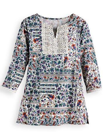Lace Trim Pullover