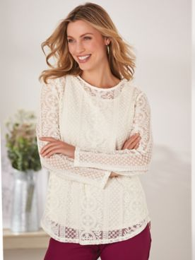 Juliet Lace Top