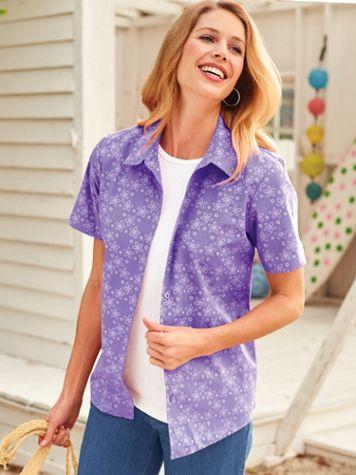 Printed Resort Shirt - Image 1 of 4