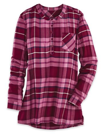 Autumn Long-Sleeve Pop-Over Tunic - Image 1 of 3