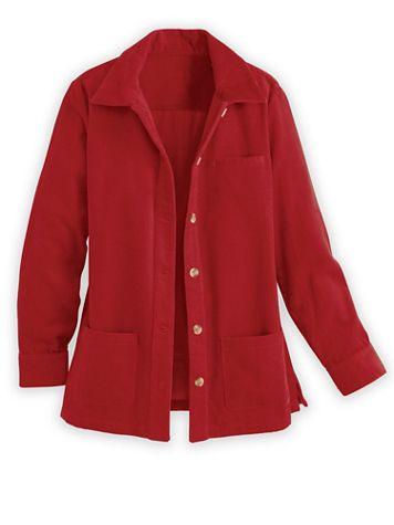 Corduroy Shirt Jacket - Image 1 of 4