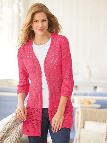 Two Twenty Scalloped Sweater - Image 3 of 3