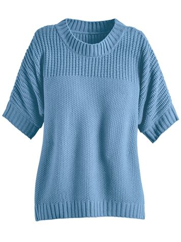 Shaker Stitch Dolman Sweater - Image 2 of 2