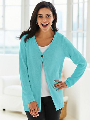 Go-Anywhere Cardigan Sweater - Image 1 of 1