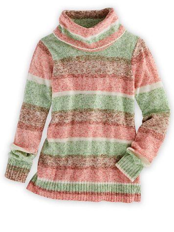 Elisabeth Williams®Cashmere-Like Cowl Neck Sweater - Image 2 of 3