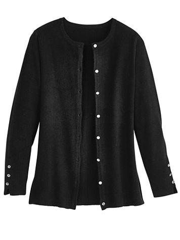 Cashmere-Like Cardigan Sweater - Image 2 of 2