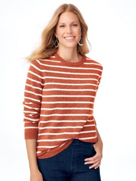 Stripe Tunic Sweater
