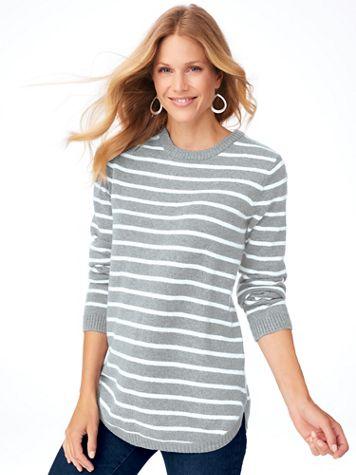 Stripe Tunic Sweater - Image 2 of 2