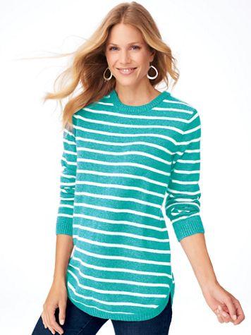 Stripe Tunic Sweater - Image 1 of 5