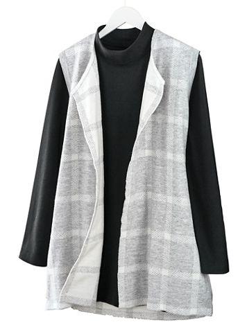 Plaid Sweater Vest - Image 1 of 2