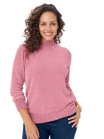 Chenille Mockneck Sweater - Image 1 of 5