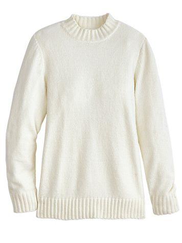 Chenille Mockneck Sweater - Image 2 of 2