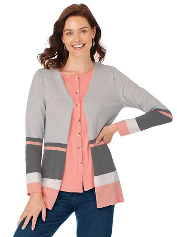 Striped Cardigan - Image 1 of 3