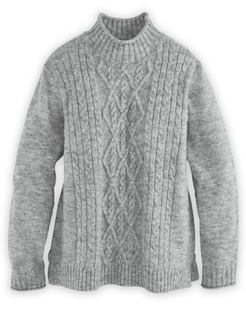 Alfred Dunner® Cable Sweater - Image 1 of 5