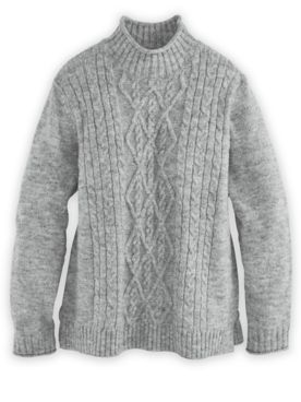 Alfred Dunner® Cable Sweater