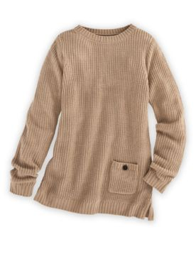 Shaker Pullover Sweater