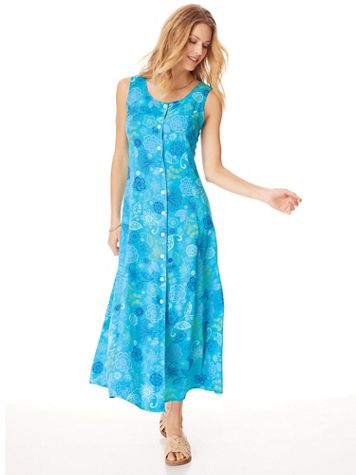 Fresh Pick Button-Front Sundress  - Image 1 of 11