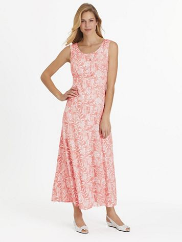 Fresh Pick Button-Front Sundress  - Image 1 of 9
