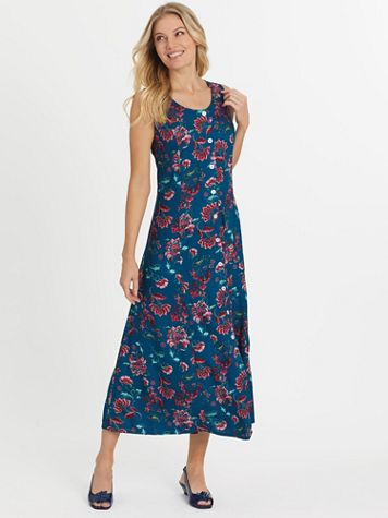 Fresh Pick Button-Front Sundress  - Image 1 of 10