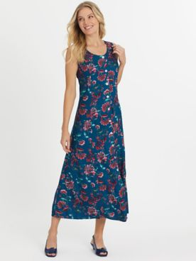 Fresh Pick Button-Front Sundress