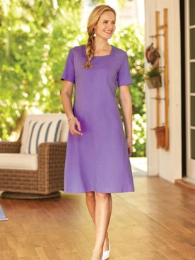 Essential Square Neck Dress