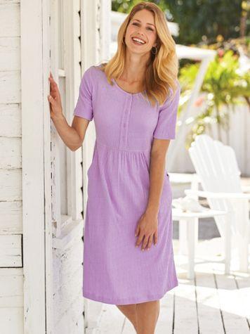 Knit Gauze Dress