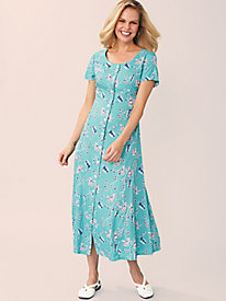 Fresh Pick Short-Sleeve Sundress