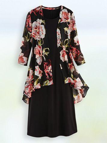 Elisabeth Williams® Jacket Dress - Image 0 of 1