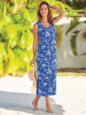 Take-It-Easy Knit Dress