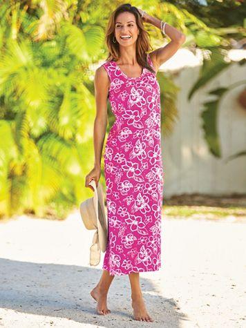 Take-It-Easy Knit Dress - Image 1 of 3