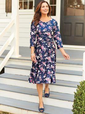 Elisabeth Williams Side-Ruched Dress