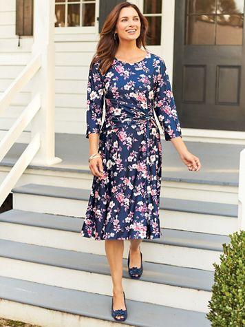 Elisabeth Williams Side-Ruched Dress - Image 3 of 3
