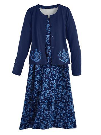 Knit Jacket Dress - Image 2 of 2