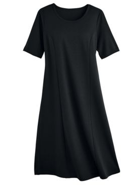 Bend Easy™ Collection: Elbow-Sleeve Dress