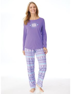 Novelty Knit Pajama Set