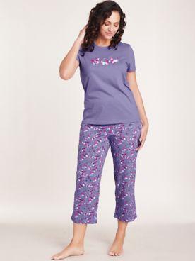 Sweet Dreams Capri Pajama Set