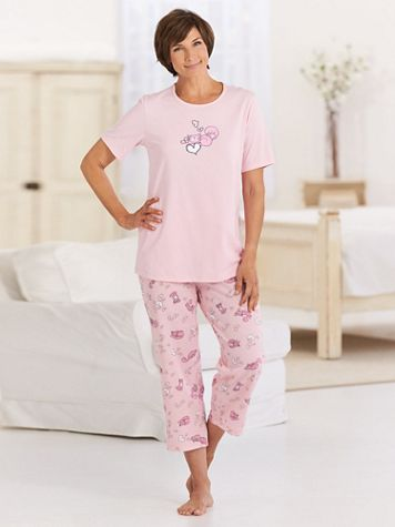 Sweet Dreams Capri Pajama Set - Image 1 of 6