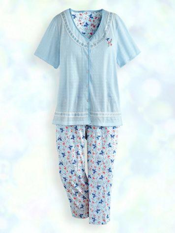 Capri Pajama Set - Image 1 of 1