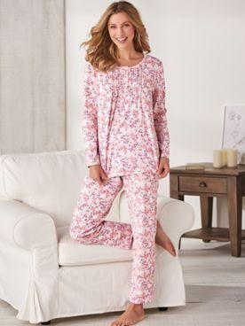 Print Knit Pajamas