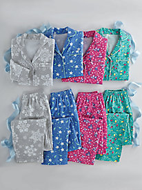 Printed Flannel Pajamas