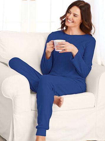 Sweater Knit Pajamas - Image 3 of 3