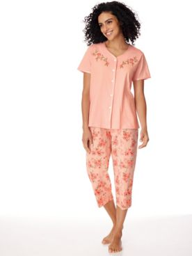 Knit Capris PJ Set