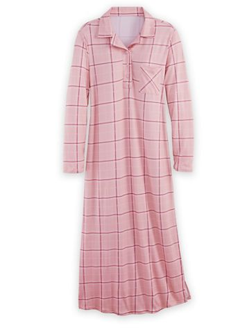 Comfy & Cozy Long Nightgown - Image 1 of 3