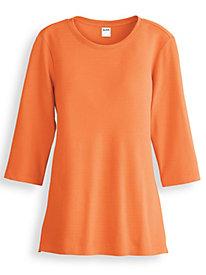 Fresh® Three-Quarter Sleeve Top by Blair